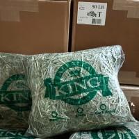 Rumput kelinci Timothy Hay Alfalfa KING 1kg makanan kelinci gp torto