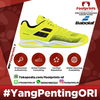 Sepatu Tenis Babolat Propulse Blast Fluo Yellow Black Original Tennis