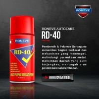 RD-40 Roneve bukan WD-40 wd40 wd 40 lubricant 300ml Penetrant oil