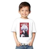 Kaos Anak Tokyo Ghoul - Kaneki Ken - Kaos Anime Anak