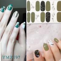 Nail sticker / sticker kuku / stiker kuku / gel nail art design