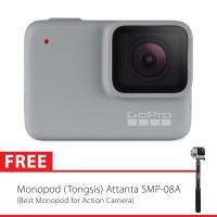 GoPro Hero7 / Hero 7 White Edition Bonus Tongsis Attanta 08-A