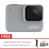GoPro Hero7 / Hero 7 White Edition Combo 3 Way Supreme 32GB