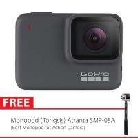 GoPro Hero7 / Hero 7 Silver Edition + Tongsis Attanta 08-A