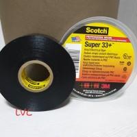 Scotch  1//2 in W x 200 in L Vinyl  Electrical Tape  Black