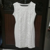 Dress pendek Midi brokat