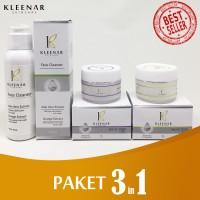 Paket Kleenar 3 in 1 ANTI FLEK HITAM | ANTI AGING | GLOWING | Kerut
