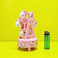 Kotak Musik Bianglala - 55067-2 Ferris Wheel Hello Kitty
