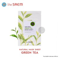 The Saem - Natural Mask Sheet Green Tea