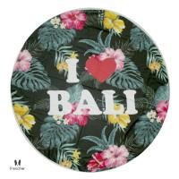 HANDUK PANTAI TW204 BEACH TOWEL WOMAN I LOVE BALI