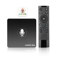 A95X Pro Android TV Box 2GB/16GB with Voice Remote 2.4G WiFi LAN