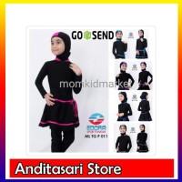 Baju Renang Anak SD Muslim Muslimah Ukuran M- L dan XL ML-TG-P-001 -