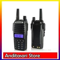 Baofeng UV82 / UV-82 Walkie Talkie HT Radio - Hitam