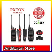 Handy Talkie &#40-HT&#41- PXTON PX-1200X- 4 Watt- Bukan Ht Baofeng-Ht