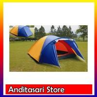 &#40-VNTG&#41- Tenda Dome BNIX/Sheng Yuan BN012 Double Layer 3-4 Orang