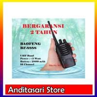 Radio Handy Talkie &#40-HT&#41- Baofeng BF-888s UHF Bergaransi 2 Tahun