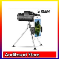 Teropong/telescope 35x Zoom Monocular Waterproof + Bag