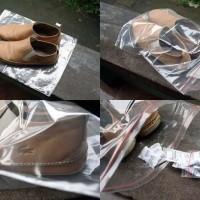 plastik ziplock jumbo 1 pack + 1 pack silicagel natural termurah