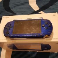 Harga psp fat 1006 metallic blue launch edition psp collector item | Pembandingharga.com