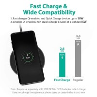 Wireless Charger Qi N5 5V 9A Fast Charging For Samsung S8 iPhone 8