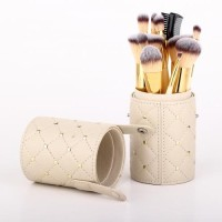 Sonia Miller Cylinder case SBS001BE-11 quilt beige brush set thumbnail