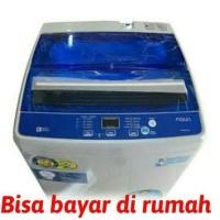 Oke Pisan Promo Mesin Cuci 1 Tabung Aqua Sanyo Aqw77Dh 7.5Kg Hijab