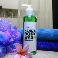 LOVESCENT GREEN GARDEN Sabun Mandi Cair /Shower Gel /Hand & Body Wash