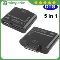 5 in 1 USB OTG Connection Kit for Samsung Galaxy Tab -A1834