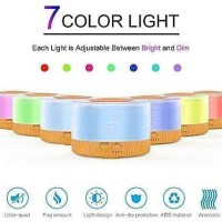 Ultrasonic Aroma Diffuser Humidifier Colorful 7 color led