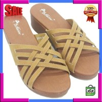 Dr Kevin Women Wedges Sandals 27374 Tan