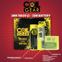 Authentic CoilGear Baterai Battery Batre 18650 3000mAh 40A Special