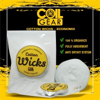 Authentic Coil Gear Cotton Wick 1(meter) Vape Vaporizer Kapas Organik