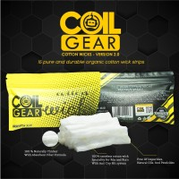 Authentic Coil Gear Cotton Wicks Premium Series V2 Lokal Vape Kapas