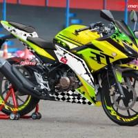 Decal Stiker Honda New CBR150R Isle Of Man TT Green