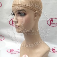 Hairnet / hair net / wig cap BEIGE CREAM KREM