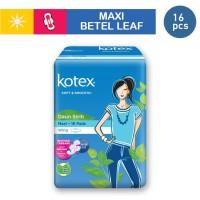 Kotex Soft & Smooth Maxi Wing Daun Sirih (16pcs)