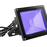 Lampu UV LED - UV Party - Tembak sorot lebar - Ultraviolet - 50W