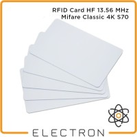 RFID 13.56 MHz Mifare Classic 4K Card Tag NFC HF ISO14443A Kartu RC522