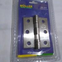 Engsel Pintu Muller 3 inc / Door Hinge SS - 304