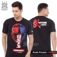 Kaos Taekwondo Hanzo, Baju Taekwondo, T shirt Taekwondo