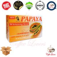 SABUN RDL PAPAYA WHITENING SOAP + SUNSCREEN