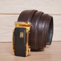 ikat pinggang kulit pria import branded hermess RLH2 brown new