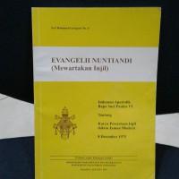 Buku Evangelii Nuntiandi Mewartakan Injil