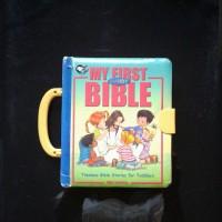 My first bible hard cover - english inggris