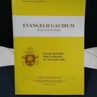Buku Evangelii Gaudium sukacita Injil