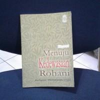 Buku Menuju kedewasaan rohani