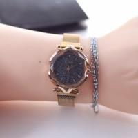 Harga jual jam di0r magnet kalung ada 2 warna i | antitipu.com