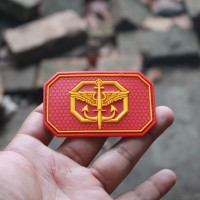 patch rubber patch komando kopassus