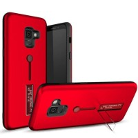 Samsung Galaxy J2 Pro 2018 Armor Hard Soft Case Cover Casing Standing