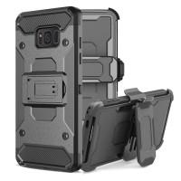 Samsung Galaxy A6 2018 XGEAR Armor Holster Hard Soft Case Cover Casing